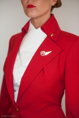 Vivienne Westwood designed flight crew uniform/ Virgin Atlantic ©Daniel Lewis 2013