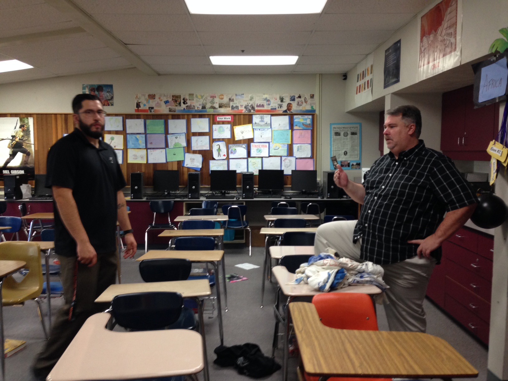Randy Johnson S Field Is His Classroom