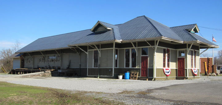 greenback tn train depot