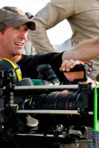 Michael Bay behind the camera