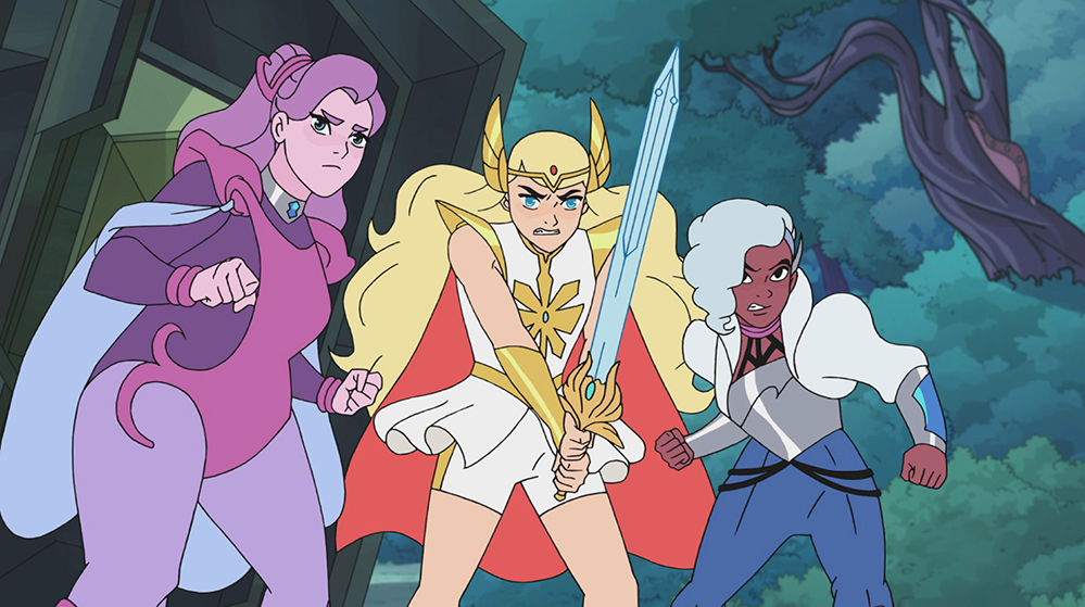 Spinerella, She-Ra and Netossa