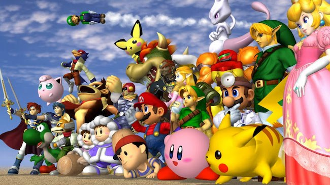 smash brothers melee