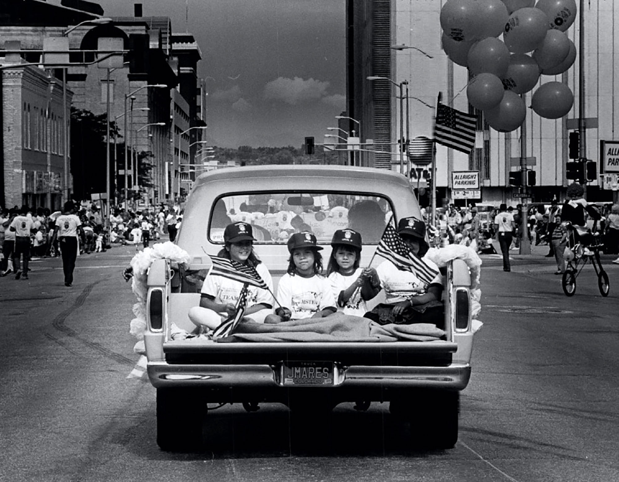 Labor Day parade along 14th St. in Denver on Sept. 2, 1986. Lyn Alweis— Denver Post via Getty Images