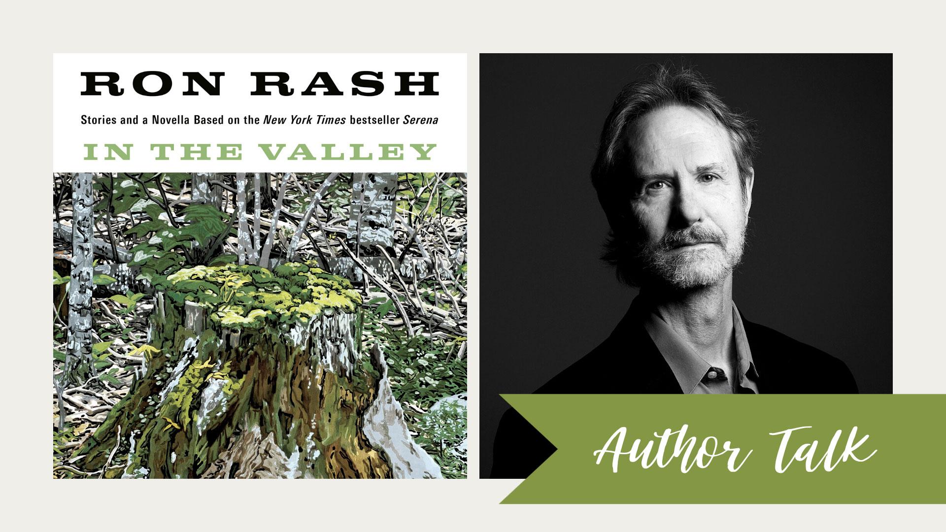 Author Talk Ron Rash