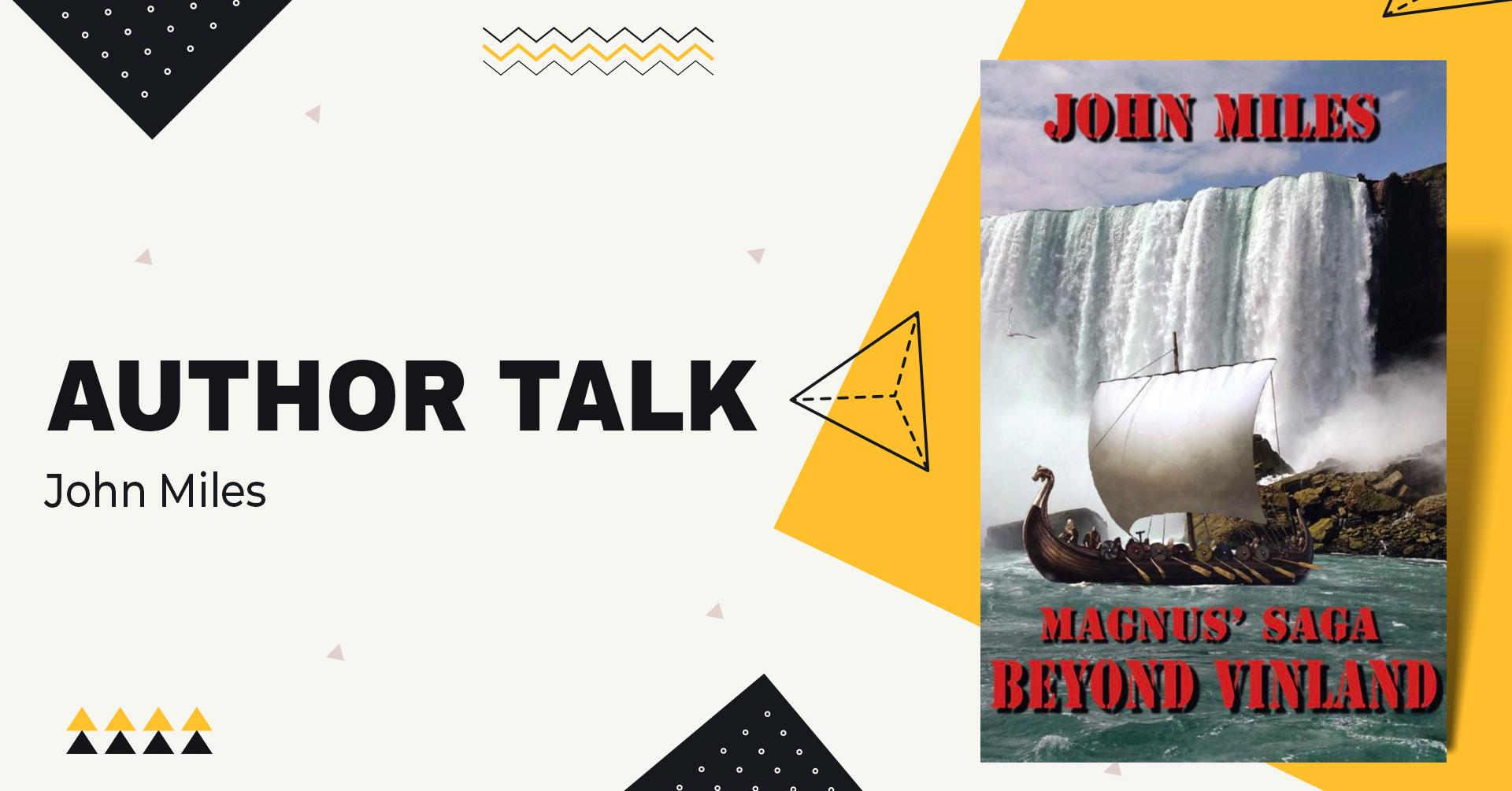 author talk john miles