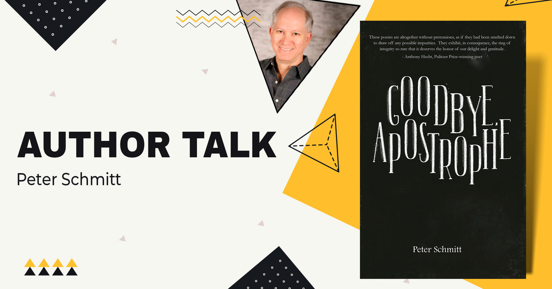 author talk peter schmitt goodbye apostrophe