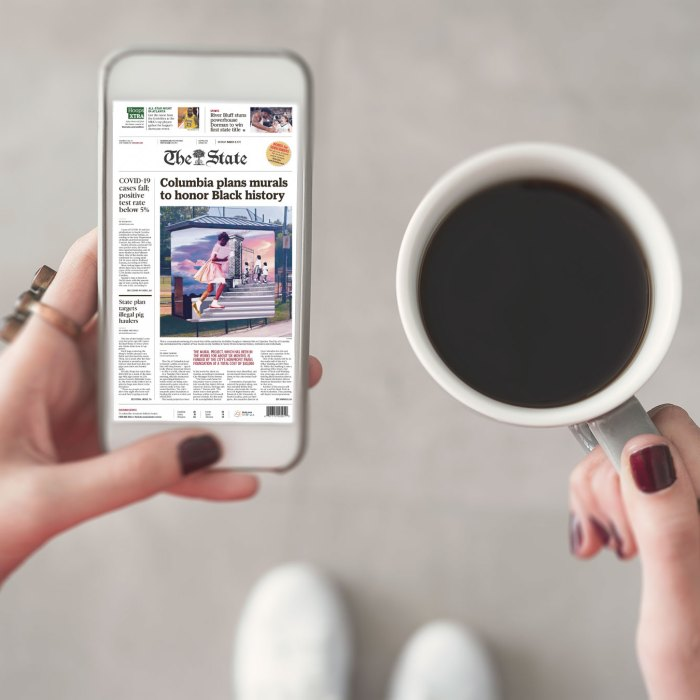 The State Newspaper's Free With Your Library Card