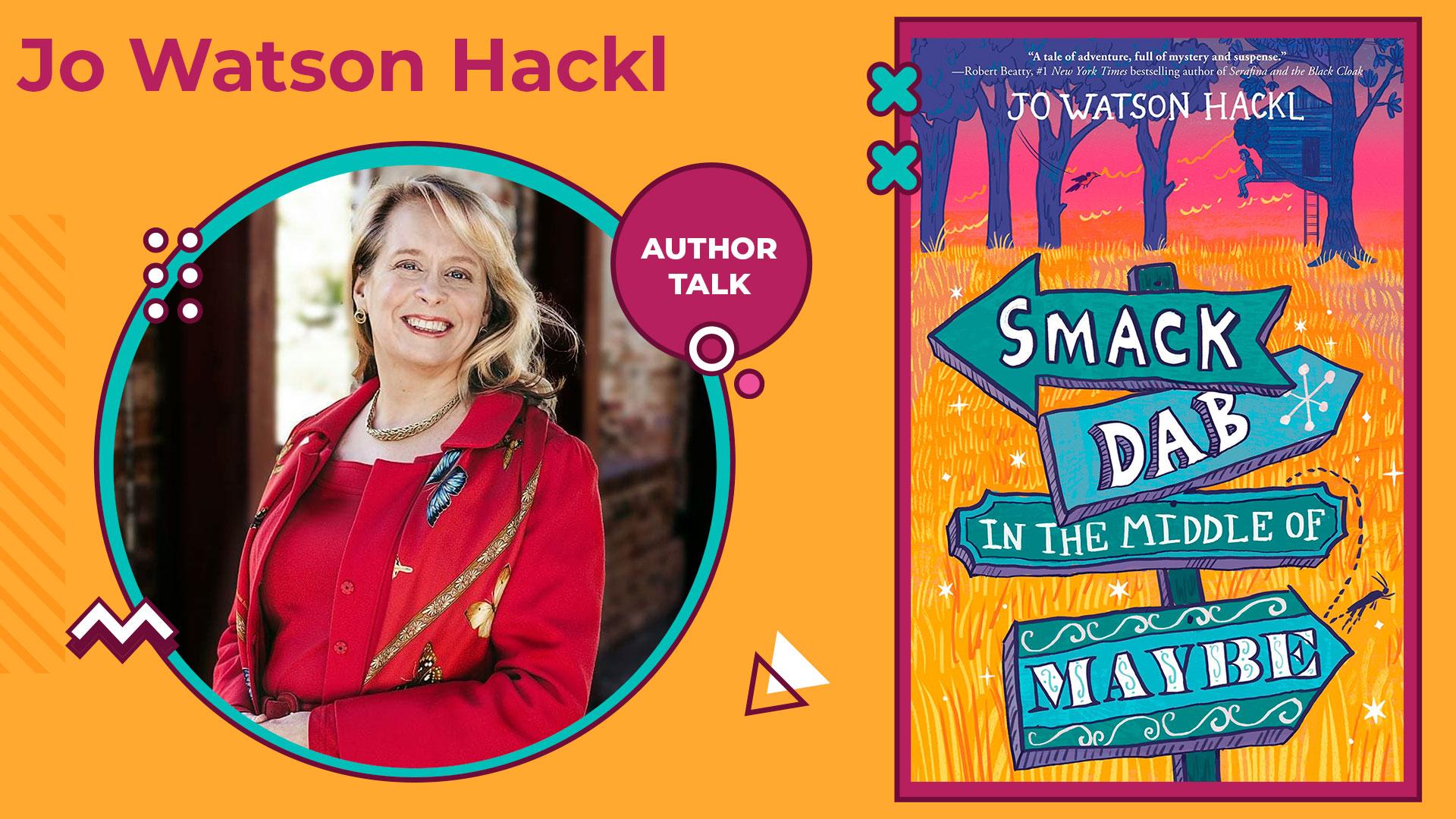 author talk jo watson hackl
