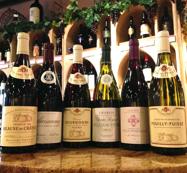 Wines of Burgundy France Event with Linda Hazelbaker wines
