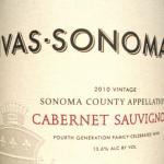 Sivas Sonoma 2011 Cabernet Sauvignon California Sonoma County