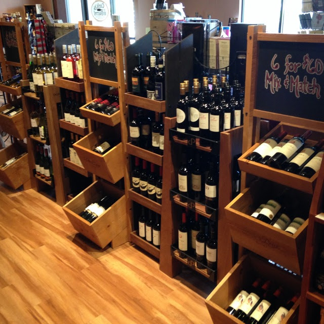 6 for 60 wine racks at Cork and Barrel