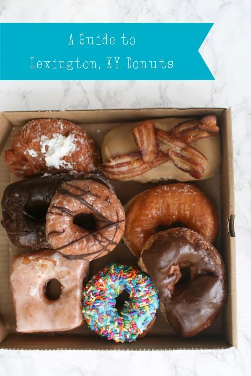 A Guide to Lexington Donuts on lexeats.com