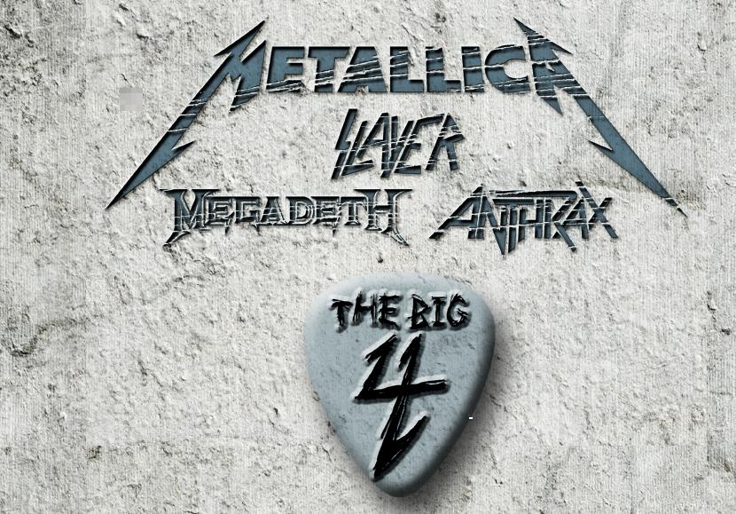 'The Big 4' - Metallica, Megadeth, Slayer & Anthrax - to thrash California on April 23