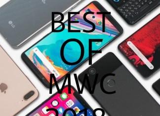Best smartphones of MWC 2018