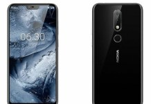 Nokia X6 is the first Nokia smartphone to feature a 19:9 display