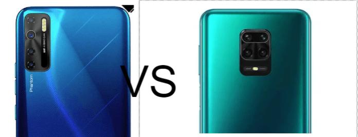 Tecno Phantom 10 vs Xiaomi Redmi Note 9