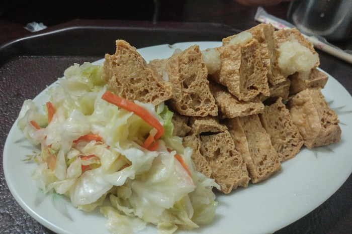 同心大腸蚵仔麵線/臭豆腐,我最愛的台北臭豆腐沒有之一,古亭捷運必吃美食小吃