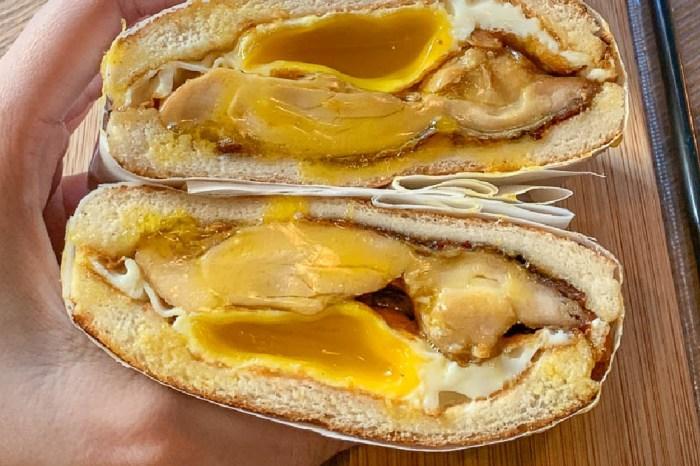 良粟商號 台北行天宮必吃碳烤土司肉蛋吐司,爆漿半熟蛋好拍也好吃,菜單價格