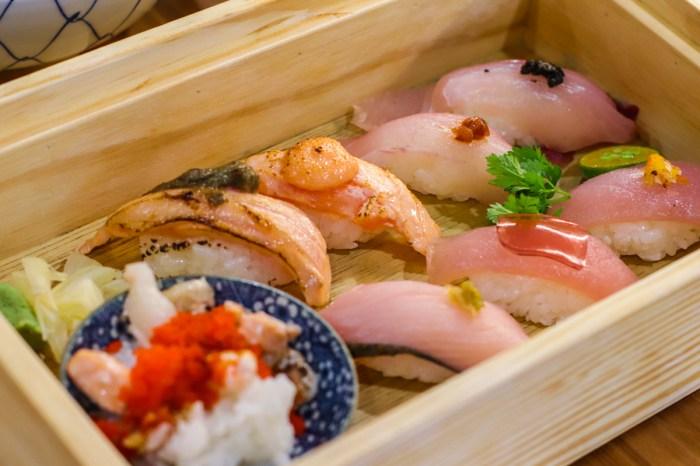 南京復興日本料理-THE春 平價壽司丼飯,鮮魚味噌湯無限續