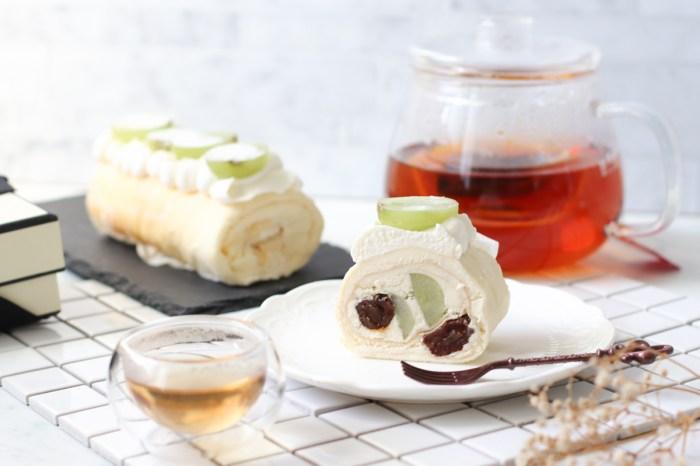 毛巾捲奶油捲推薦 熊夫人甜點,微醺甜點品嘗酒香與蛋糕的共舞/宅配甜點