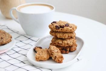 燕麥餅乾食譜|10分鐘就做完,無奶油無蛋免機器!超簡單餅乾食譜