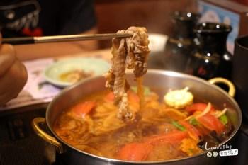 食記【台北】momo paradise春夏新品 蕃茄壽喜燒鍋+寬麵~好好吃呀