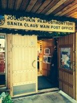 A real post office! You can send letters from Santa's real office!