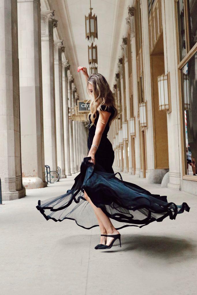 Black Tie Dress by Mac Duggal