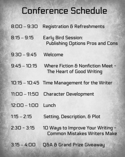 Mike Dellosso One-Day Writers Conference via LexingtonWordWeavers.com