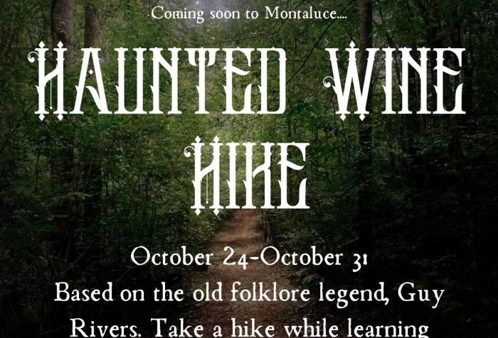 Haunted Wine Hike