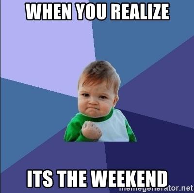 weekend 3May