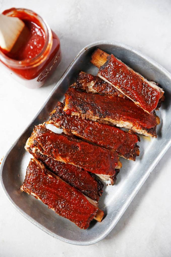 Lexi's Clean Kitchen | Oven Baked Coffee Barbecue Pork