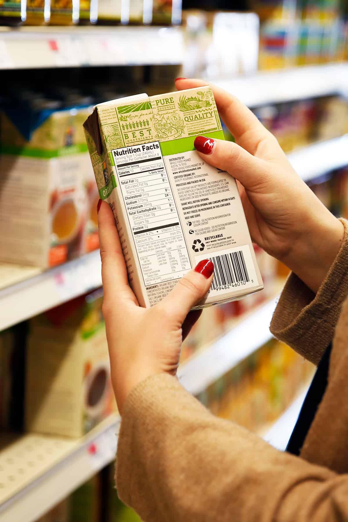 How A Nutritionist Decodes A Nutrition Facts Label