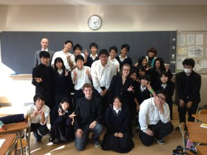 Lexis jaapn Isomi Sensei Visiting High school