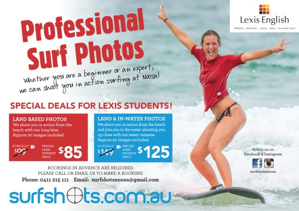 Surf Shots Lexis school poster_A3