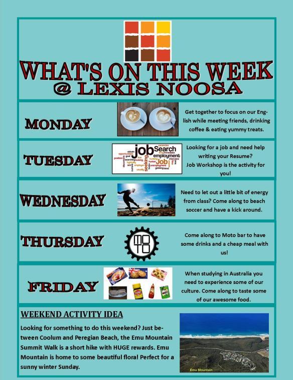 Poster Week 4