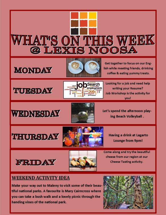 Poster Week 1