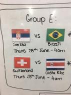 Group E round 3