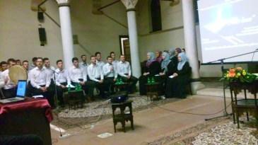 The choir at mevlud.