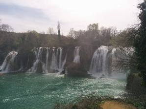 Kravice Waterfalls in Herzegovina. Ended up making a very brief trip there on a random day trip.