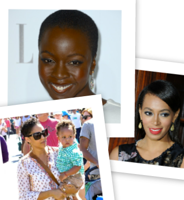 Celeb (Hair)Style: Solange Straight, Tia Mowry Recent Hair Cut, & Danai Gurira's Short Crop