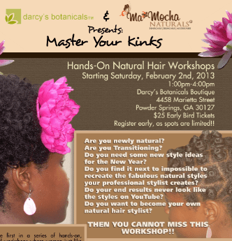 ATL- Master Your Kinks Workshop By Darcy's Botanicals & MaMocha Naturals 2/2