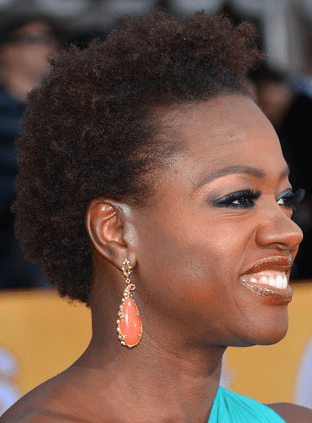 Natural Hair At The SAG Awards- Viola Davis and Teyonah Parris