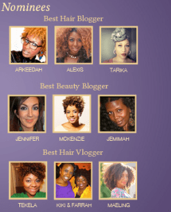 I'm Nominated! Vote For Me For The B. Fab Awards
