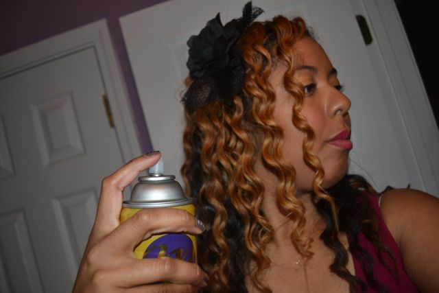 #Curly2Straight with Motions Hair Care!