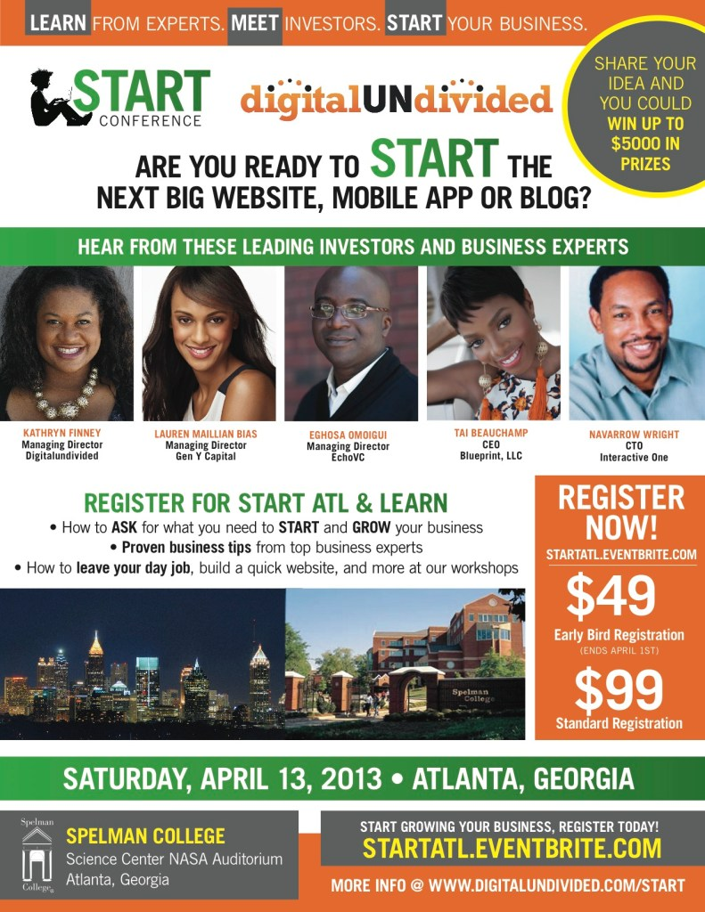 Get 50% OFF Tix To DigitalUndivided Conference- April 13th in ATL