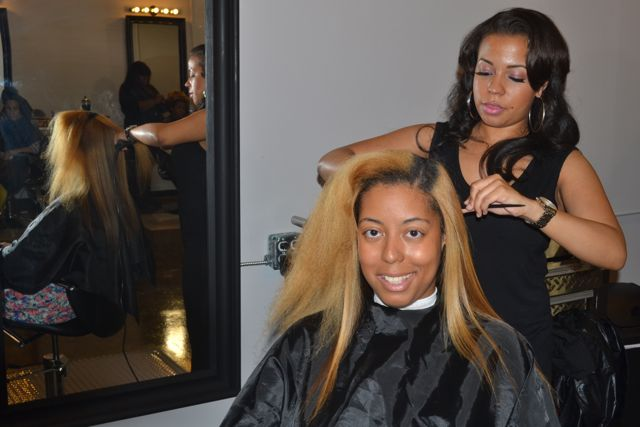 Beautiful Textures Brunch + Makeover/Photoshoot (Straightened Hair)