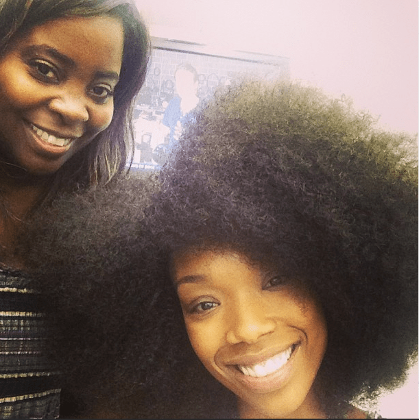 Brandy's New Hairstyle Styled By Kim Kimble