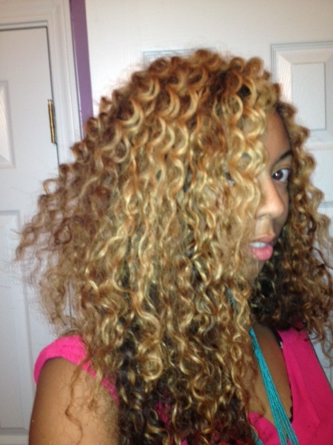 Curly Extensions + Blending