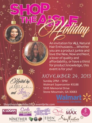 Join Me & Baby Shopaholic for Shop The Aisle Holiday!
